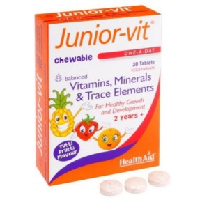 HEALTHAID JUNIOR-VIT 30 TABS