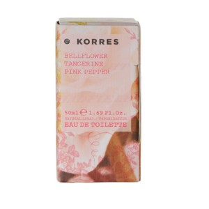 KORRES EDT BELLFLOWER TANGERINE PINK PEPPER