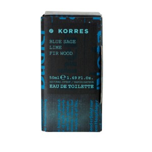 KORRES EDT BLUE SAGE LIME FIR WOOD