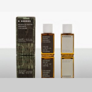 KORRES EDT MOUNTAIN PEPPER BERGAMOT
