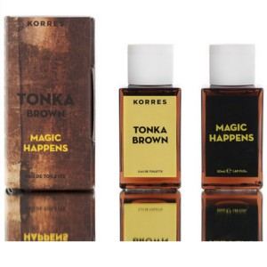 KORRES EDT TONKA BROWN MAGIC HAPPENS