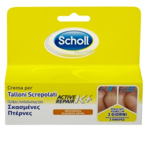 SCHOLL CREAM FOOT K+