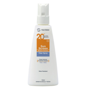 FREZYDERM SOLAIRE BODY CLEAR SPRAY spf20