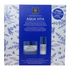 APIVITA AQUA VITA CREAM OIL SET