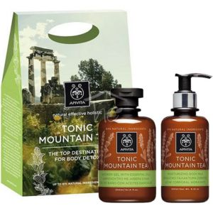 APIVITA BODY SET TONIC MOUNTAIN TEA