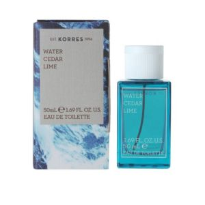 KORRES EDT WATER CEDAR LIME