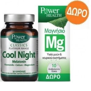 POWER PLATINUM COOL NIGHT TABS (2)