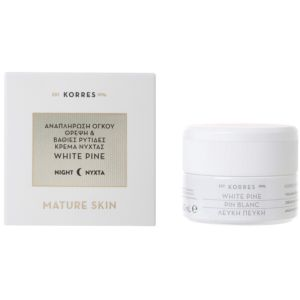 KORRES WHITE PINE NIGHT CREAM