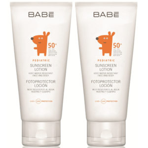 BABE Set Pediatric Sunscreen Lotion SPF50+ 2 Τεμάχια x 100ml